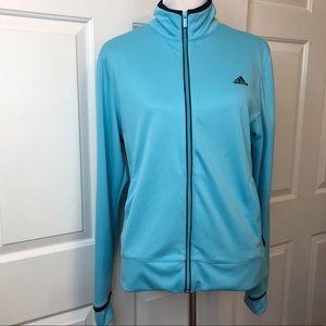 Adidas Teal and Black Jacket